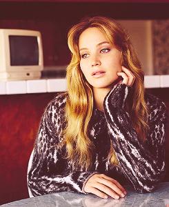 Jennifer Lawrence for Vogue UK Magazine 2012