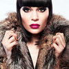 Jessie J photo with a fur coat, a mink, and a sable coat titled Jessie