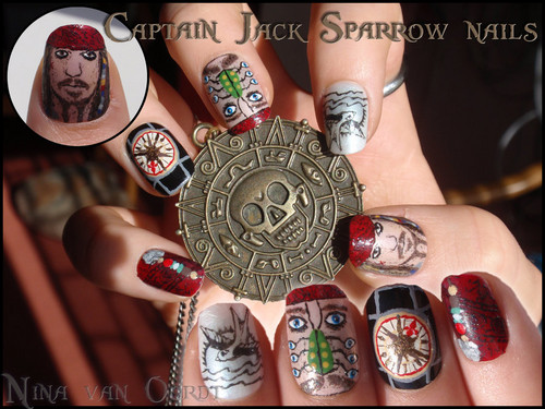 Johnny's Characters Nails