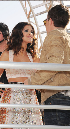 Josh and Selena