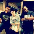 Justin Bieber, Alfredo Flores and Kenny Hamilton