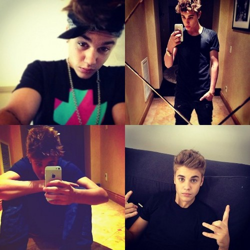 Justin's instagram pictures