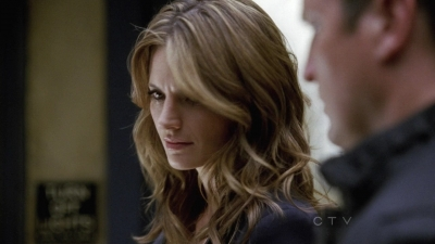 Kate Beckett karatasi la kupamba ukuta containing a portrait called Kate 5x03