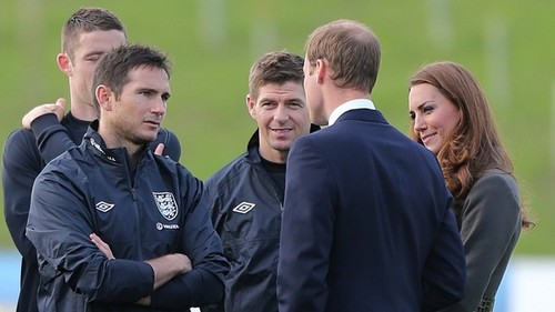 Kate Middleton, Frank Lampard