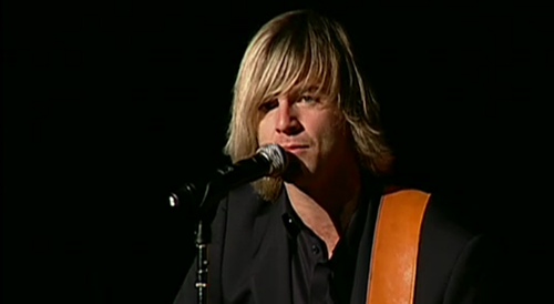 Keith performing live at the pentagon with Celtic Thunder
