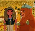 Kenai & Poca go to Egypt