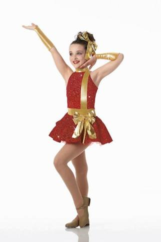 Dance Moms wallpaper possibly with a chemise, a chemise, and a playsuit entitled Kendall Modeling a Dance Costume
