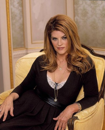 Kirstie Alley wallpaper probably with a well dressed person, an outerwear, and a hip boot titled Kirstie Alley