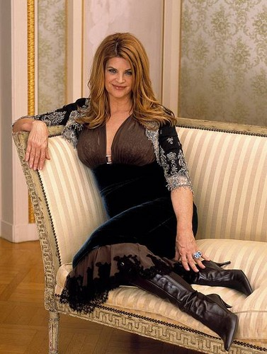 Kirstie Alley wallpaper probably with a drawing room, a living room, and a boudoir entitled Kirstie Alley