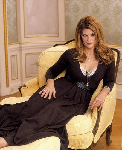 Kirstie Alley wallpaper probably with a well dressed person, a drawing room, and a business suit entitled Kirstie Alley