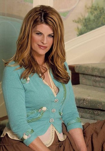 Kirstie Alley wallpaper possibly with a cardigan, a pullover, and a portrait called Kirstie Alley