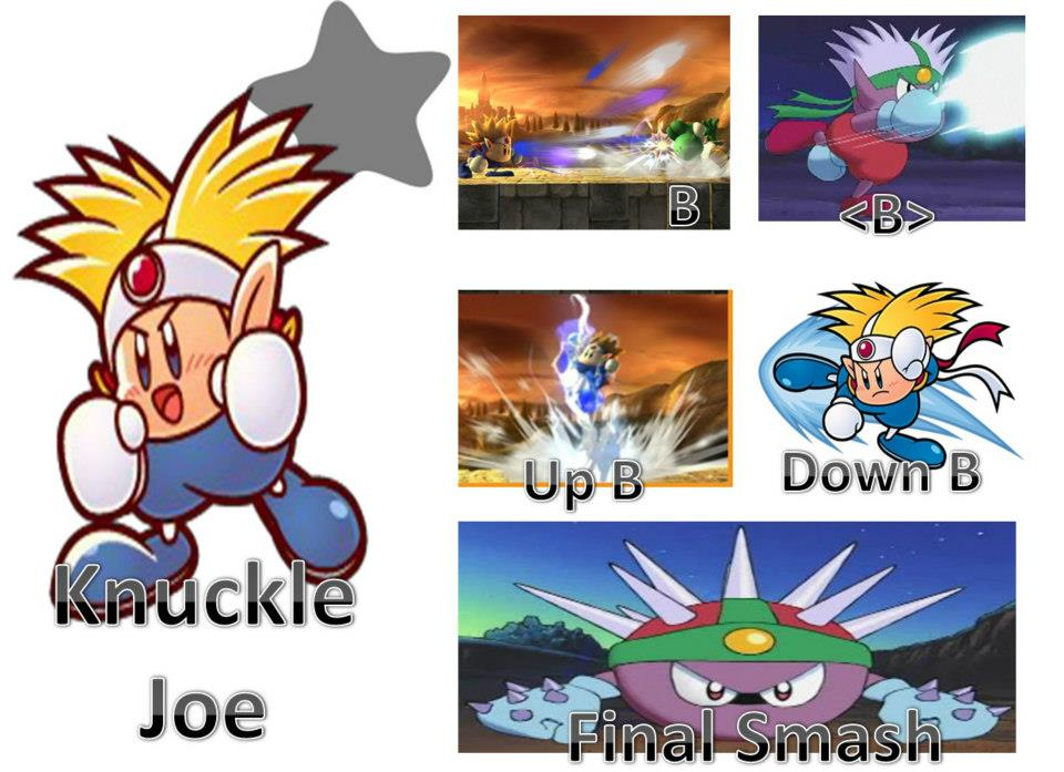 Knuckle Joe Possible Moveset Super Smash Bros 4 Fan Art 32411359