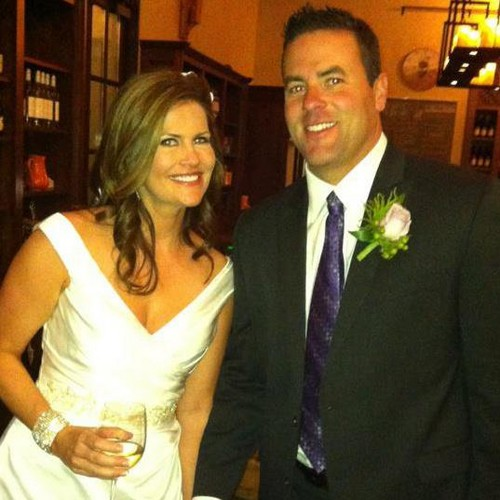 Kristen and Steve getting married, 2012