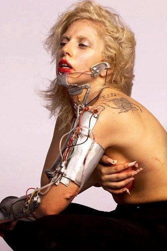 Lady gaga outtake by Inez and Vinoodh