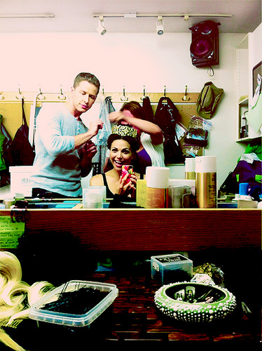 Lana Parrilla & Josh Dallas