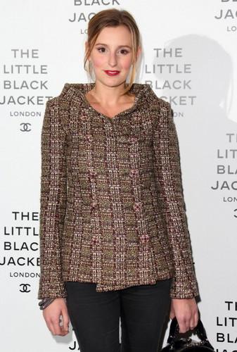 Laura at Chanel Little Black jaket