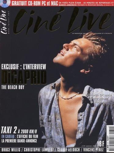 Leonardo DiCaprio Magazine Covers