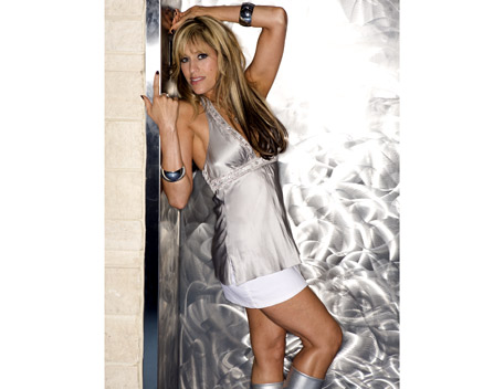 Lilian Garcia wallpaper possibly containing a well dressed person, a chemise, and a cocktail dress titled Lilian Garcia Photoshoot Flashback