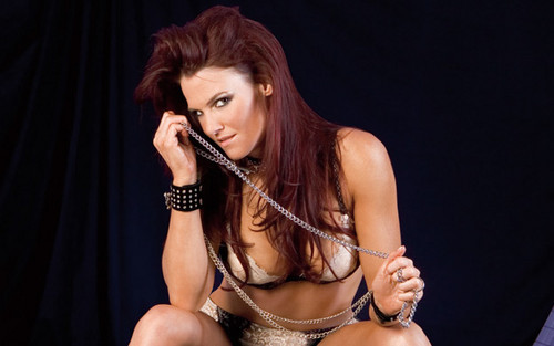 "Amy ""Lita"" Dumas fond d'écran possibly with attractiveness and a portrait called Lita Photoshoot Flashback"