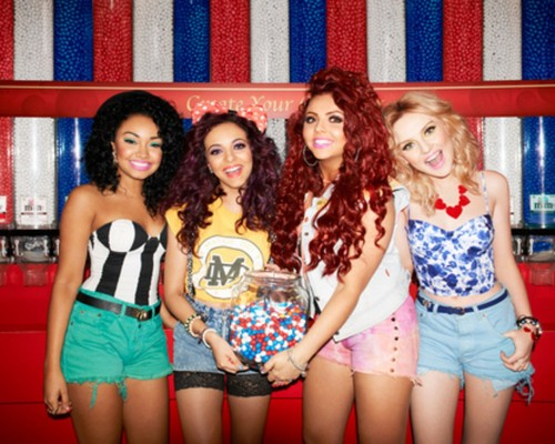 Little Mix fond d'écran possibly containing bare legs, a playsuit, hot pants, and pantalon chaud entitled Little Mix