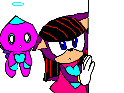 Livi And Her Chao Raseberry