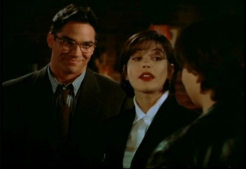 Lois and Clark wallpaper containing a business suit, a suit, and a three piece suit titled Lois & Clark