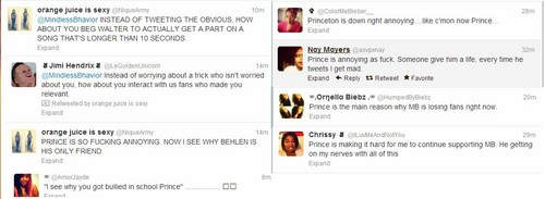 Look At Dese Twitter Bitches tsk tsk tsk Talking Shit Bout Freaky Princeton*le takes earrings off*