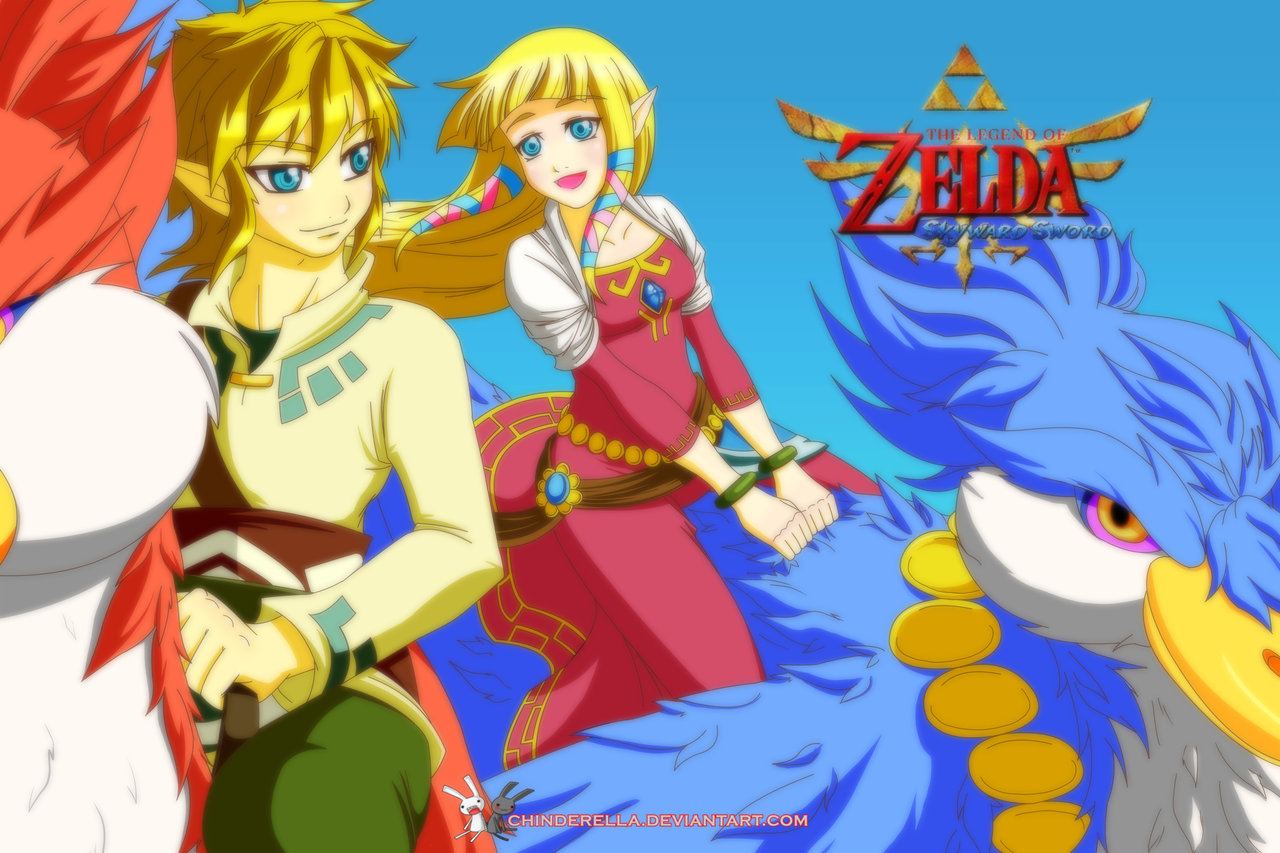 Loz Ss The Legend Of Zelda Skyward Sword Fan Art