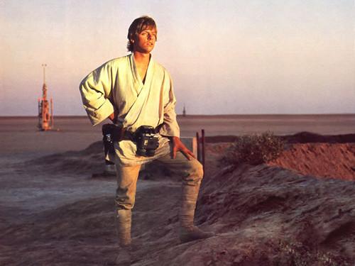 Luke Skywalker wolpeyper