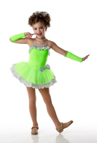 Dance Moms wallpaper containing a chemise titled Mackenzie Modeling a Dance Costume