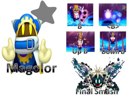 Magolor Possible Moveset