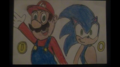 Mario and Sonic - mario-and-sonic fan art