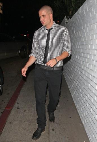 Mark Salling Leaving A Restaurant in Los Angeles - September 27, 2012