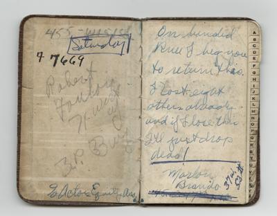 Marlon's address book