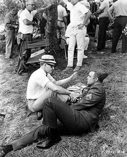 Marlon with director Ralph Levy.