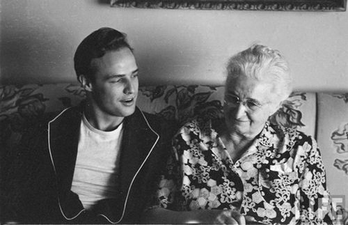 Marlon with his Granny