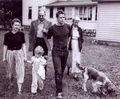 Marlon with his family - marlon-brando photo