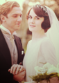 Mary & Matthew's Wedding - downton-abbey photo