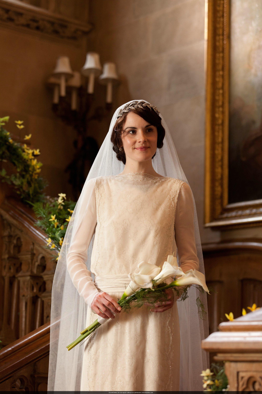 Mary and Matthew Crawley Wedding