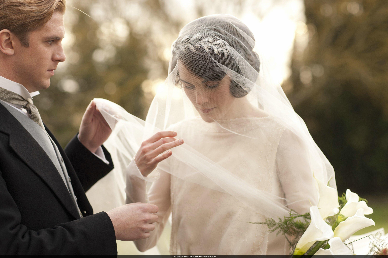 Lady mary crawley mary and matthews wedding