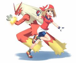 May and Blaziken