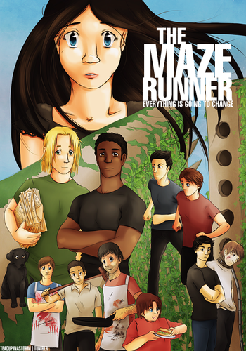 Maze runner characters
