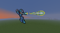 Mega man. - minecraft-pixel-art fan art