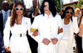 Michael And His Two Sisters, LaToya And Janet - michael-jackson photo