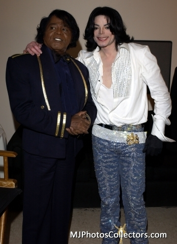 Michael And Longtime Idol, James Brown