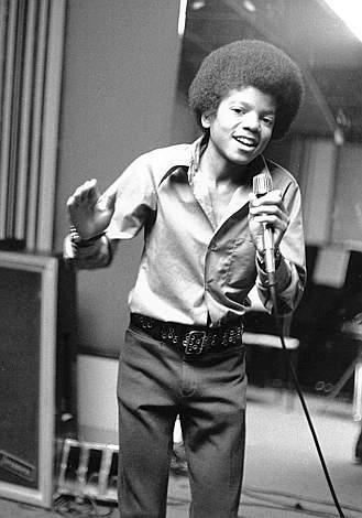 Michael In The Recording Studio