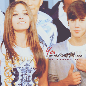 Michael Jackson's daughter Paris Jackson and Justin Bieber ♥