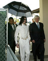Michael With Attorney Tom messereau Back In 2005 - michael-jackson photo