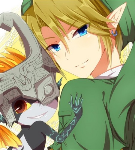 Midna and Link