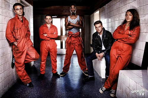 Misfits - Season 4 - Cast Promotional foto